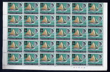 PITCAIRN Is.1967 1/2c on 1/2d MINT SHEET...60 stamps