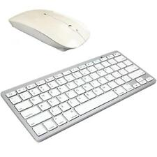 Tastiera Senza Fili Bluetooth e 2.4GHz Wireless Mouse Ottico Apple Mac