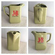 Vintage Broc Pichet Jug Publicitaire Whisky  J&B ( J B )