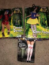 Halloween Zombie Snow White And Dwarf Costumes