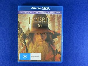 The Hobbit An Unexpected Journey 3D - Blu Ray - Free Postage !!