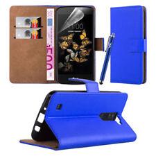 Étuis, housses et coques bleus simples pour téléphone mobile et assistant personnel (PDA) LG