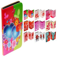 For HTC Series Mobile Phone - Valentine Love Print Flip Case Wallet Phone Cover
