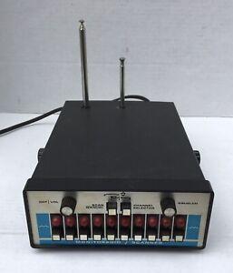 Vintage Regency 10 Channel UHF/VHF Radio Receiver Model ACT-R IO H/L/U