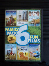 FAMILY PACK: 6 FUN FILMS USED - Like New DVD