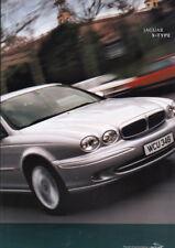 2003 JAGUAR X-TYPE Large Format 58 Page Prestige Brochure 2.5 3.0 V6 SE Sport
