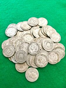 Dominican Republic 25 Centavos 90% Silver