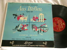 RICHARD STRAUSS Aus Italien CLEMENS KRAUSS Vienna Phil London ffrr mono dg LP