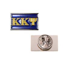 Kappa Kappa Psi Fraternity Letter Lapel Pin KKPsi