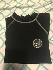Maui & Sons Youth Rash Guard Size: Medium - Color: Black