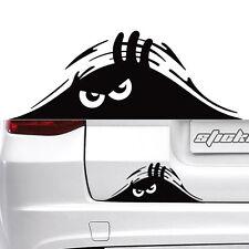 2pc Car Window Black Peeking Monster Cute Funny Sticker Vinyl Waterproof Decal