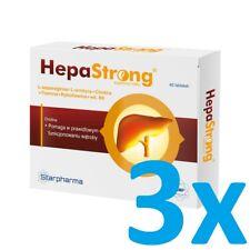 3x StarPharma HepaStrong 40 TAB - DETOX liver detox Protect Essentiale effective