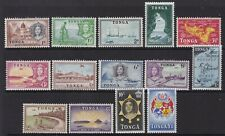 TONGA 1953 DEFINITIVE SET, FINE MINT, CAT £75