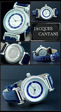 Jacques Cantani Fluted Automatic Designer Men's Watch Timepiece Japan Miyota