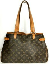 LOUIS VUITTON monogram Batignolles Horizontal Shoulder Tote bag M51154 Spain