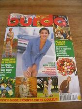 MAGAZINE BURDA TONS CHAUDS TISSUS FLUIDES ET BEAUX DETAILS  1998