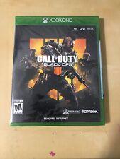 Call of Duty Black Ops 4 IIII IV (Microsoft Xbox One 2018) Brand New Sealed