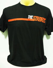 The Strokes American indie punk rock band music black t shirt size S,M,L,XL