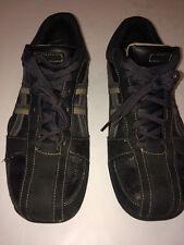 Skechers Men's Urban Track City Walkers Shoes Men's Brown Leather Size 12 61751