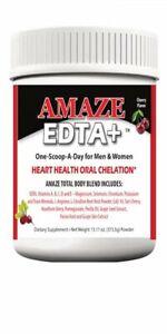 Cardio EDTA 3 in 1 Chelation Supplement L-Arginine L-Citrulline Beet Root Cherry