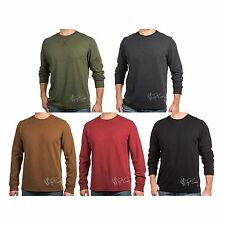 NWT Levi's Men's Long Sleeve Classic Fit Soft Warm Thermal Crew Layering Shirt