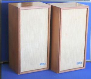 KLH Model Seventeen 17 Speakers Work very good Condition