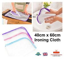 IRONING CLOTH Mesh Protective Net Protect Iron Delicate Garments Clothes 40x60cm