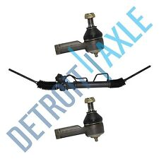 Complete Power Steering Rack & Pinion Assembly Outer Tie Rods Ends for Hyundai