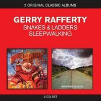 Gerry Rafferty - Snakes And Ladders/Sleepwalking (NEW 2 x CD)