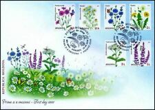 Moldova stamps! FDC (First Day Cover), WILD FLOWERS, MNH, 2016