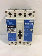 CUTLER HAMMER WESTINGHOUSE HFD 65K BREAKER 90 AMP 3 POLE 600 VAC MODEL HFD3090L