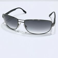 HUGO BOSS 0410/S 62mm Men's Square 100% Authentic Sunglasses Dark Ruthenium BKW