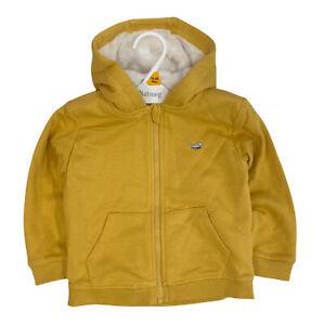 NEW Ex Nutmeg Boys Jacket Zip Up Fleece Lined Hooded Borg Hoody Jumper Kids