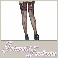 Nylon Floral Everyday Hold Ups Hosiery & Socks for Women
