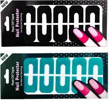 10 Tips Peel Off Nail Art Latex Tape Finger Skin Protected Polish Sticker