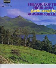 Alasdair Gillies Voice of the Highlands LP Beltona SBE158