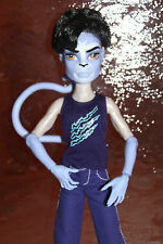 Monster High puma boy Create a Monster add on pack + Body Torso Complete