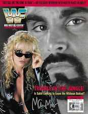 Marc Mero Signed September 1997 WWF Magazine Cover BAS Beckett COA WWE Autograph