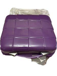 Antler Camden Town Glam Box Hardshell Case Purple NEW Avon Vanity Case Make Up