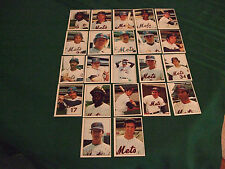 1975 SSPC NEW YORK METS SET OF 22  NMT -MT SEE SCAN & DISCRIPTION