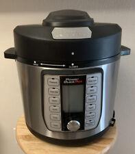 Power Quick Pot 8-in-1 Touch Multi Cooker 6 Qt 1200 Watt 37 Presets 752356824082