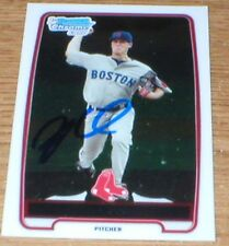 Red Sox Keith Couch RC Autographed Card