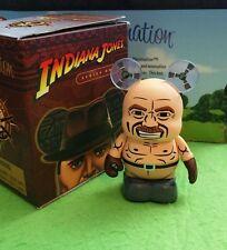 "DISNEY VINYLMATION Park - 3"" Set Indiana Jones Set 1 Mechanic with Box"