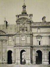 Pierre Lampué Pavillon de Rohan Nouveau Louvre Paris Héliogravure XIXème