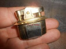 Vintage Small Oval Japan Gold Tone Table Lighter Insert New Old Stock