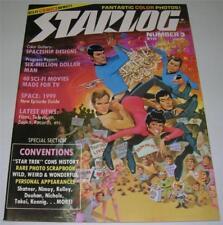 "STARLOG MAGAZINE #3 (1977) ""STAR TREK"" CONVENTIONS! SPACE: 1999! (VF) RARE!"