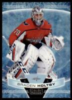 2019-20 OPC Platinum Arctic Freeze #120 Braden Holtby /99 - Washington Capitals