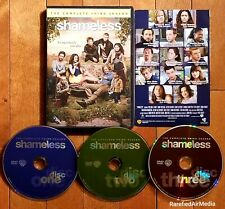 Shameless: Complete Third Season (DVD 2013) TV Series *FREE SHIPPING*