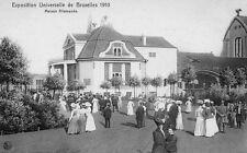 Postkaart - Brussel - Expo 1910 - Paviljoen van Duitsland