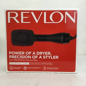 New Revlon Pro Collection One Step Hair Ionic Dryer and Brush Styler RVDR5212